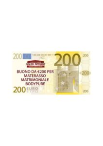 200euro materasso bodypure